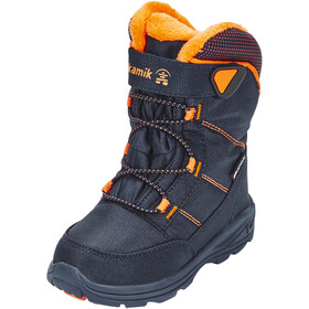 Kamik Stance Chaussures Enfant, navy & flame